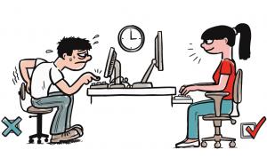 Věnujte čas výběru (po)sezení aneb ergonomie u dětí a studentů